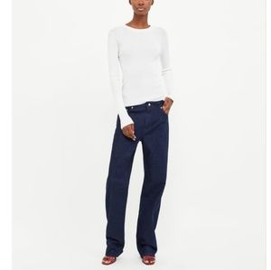 Zara woman heritage straigh high jeans